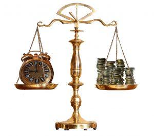 balance temps argent