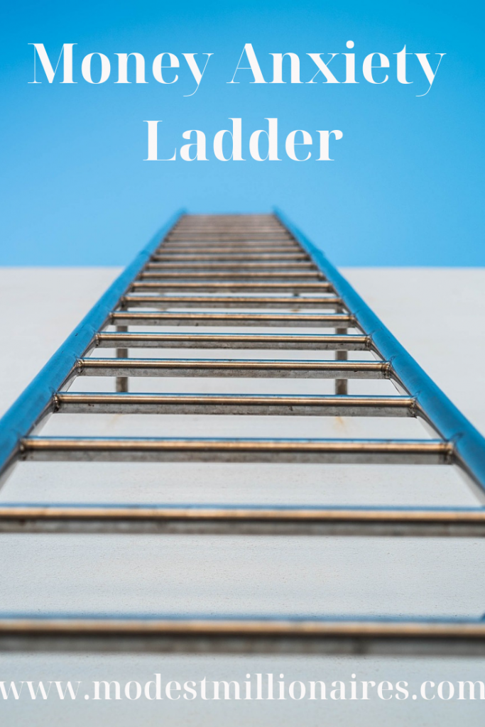 money anxiety ladder modest millionaires 1